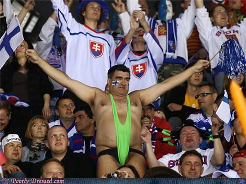 fan Finland sports thong - 4800817920
