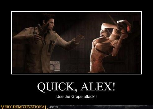 grope hilarious nurse silent hill wtf - 4801093376