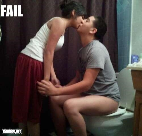 engagement failboat gross innuendo KISS marriage proposal romantic toilet - 4801147136