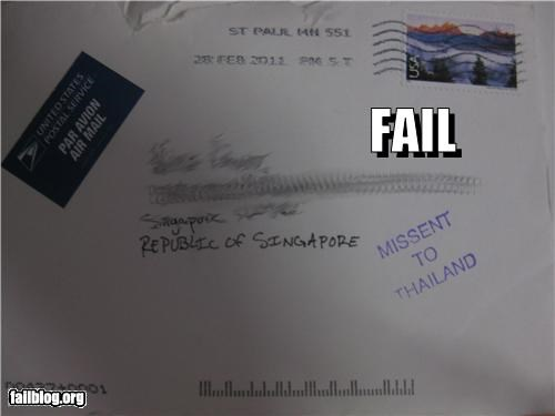 asia,destination,failboat,g rated,letter,mail,post office,singapor,stamp,thailand