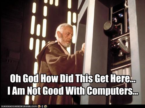 Alec Guinness celeb funny sci fi star wars - 4801496576