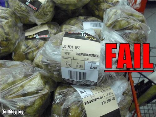 failboat food g rated grocery store label Professional At Work warning - 4801752832
