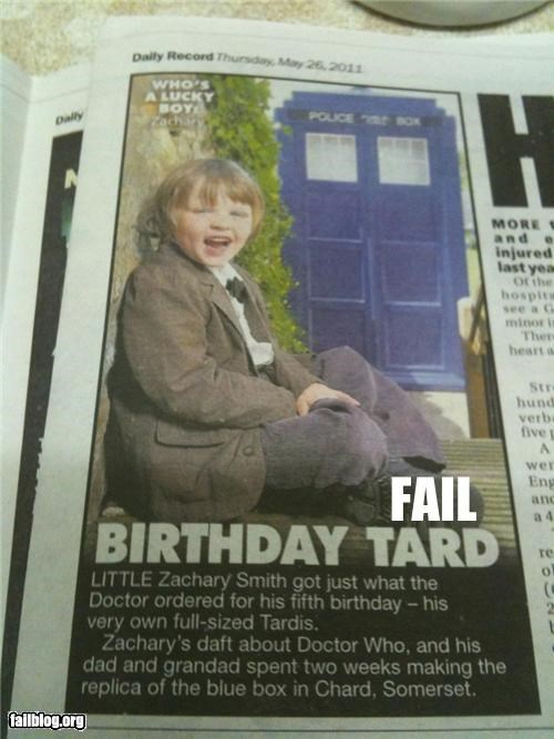 abbreviation,doctor who,failboat,headline,news,retarded,roflrazzi,spelling mistake