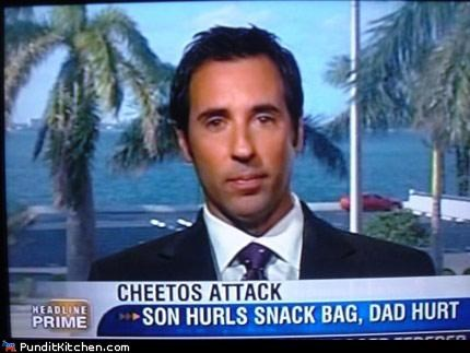 chips,dad,dumb,kids,news,snacks