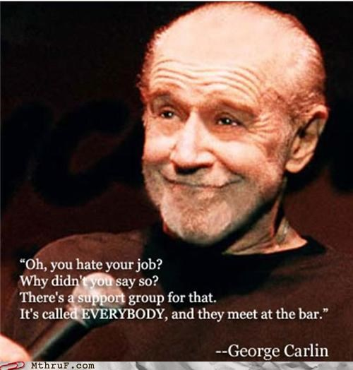 bar,drinking,george carlin