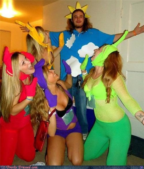 halloween,slutty,teletubbies
