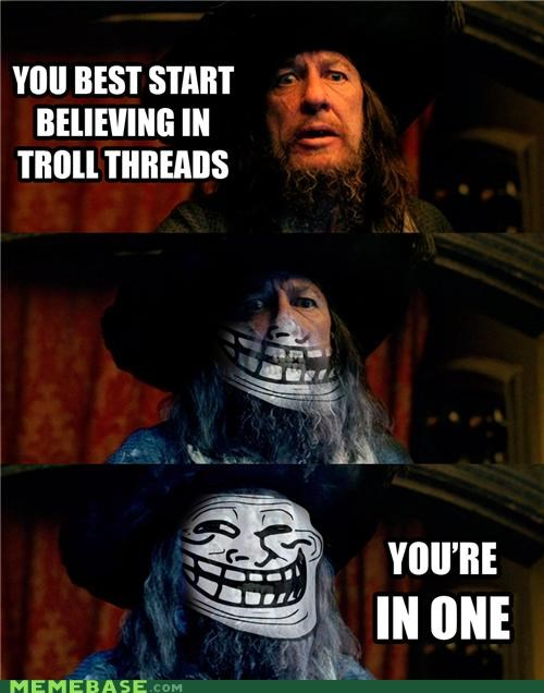 barbarossa caribbean pirates ship threads troll troll face
