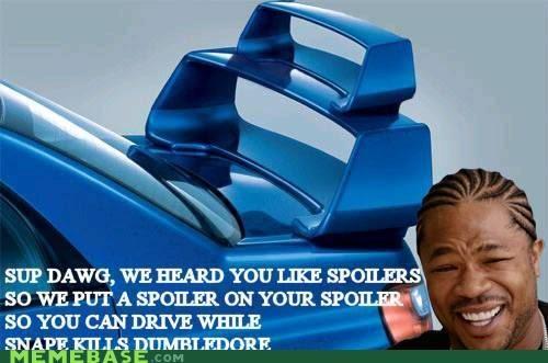 drive,dumbledore,Father,spoiler,yo dawg