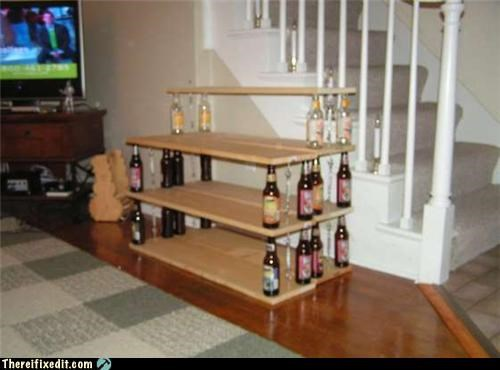 Beer Shelves