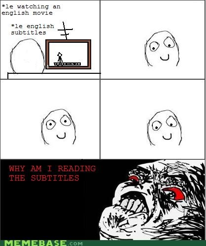 movies,Rage Comics,reading,subtitles