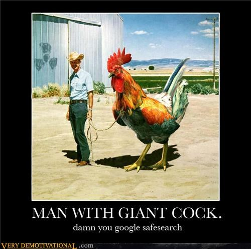google hilarious huge rooster safe search