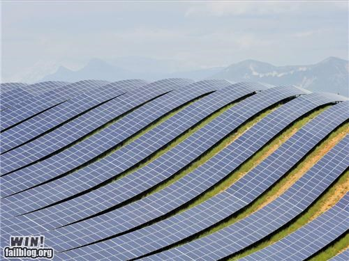 landscapes,oh France,renewable energy,solar farm