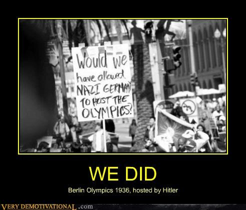 WE DID Berlin Olympics 1936, hosted by Hitler