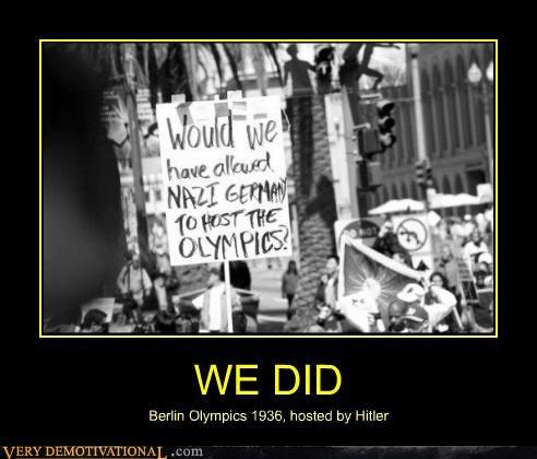 Germany hitler idiots olympics - 4802689792