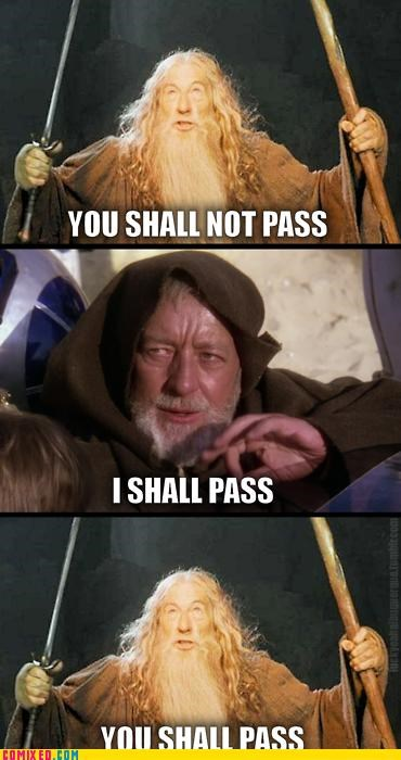 From the Movies gandalf Lord of the Rings you shall not pass - 4802707200