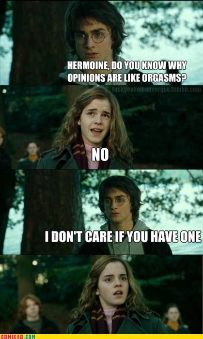 Harry Potter hermione sexist - 4802816256