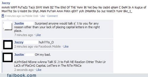 lol random caps translation witty reply