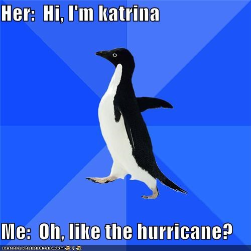 hurricane isabel katrina Natural Disasters sister socially awkward penguin - 4802905344