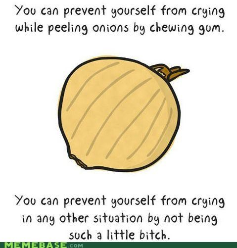 crying gum Memes onions prevention sadness tears - 4803084288