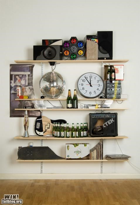 awesome books design furniture skulls - 4803168512