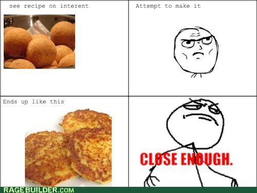 Close Enough,food,Rage Comics,recipe