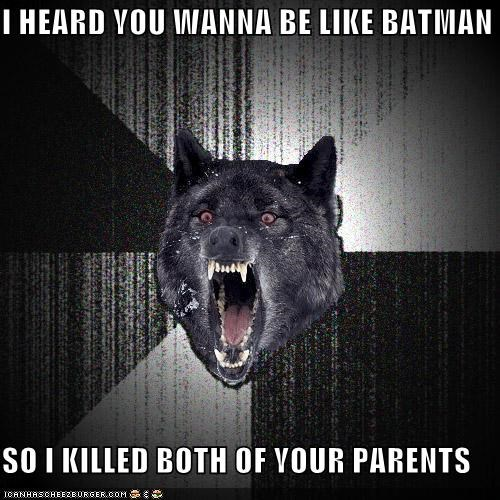 batman harvey dent Insanity Wolf superheroes - 4803856384
