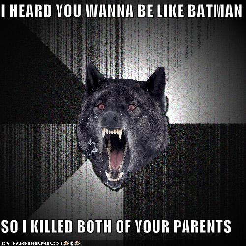 batman harvey dent Insanity Wolf superheroes - 4803856384