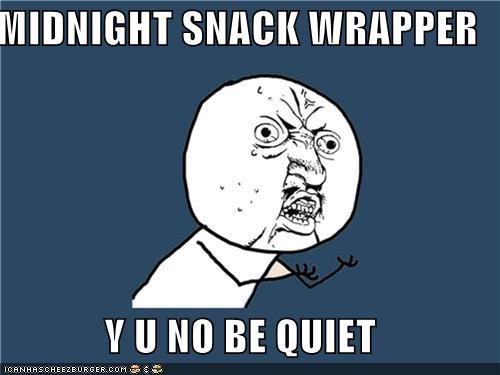 parents sleeping snacks Y U No Guy