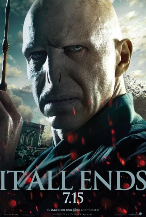 HP7 movie poster voldemort - 4805342720