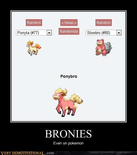 BRONIES Even on pokemon