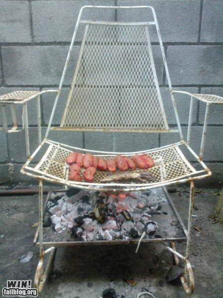 bbq chairs DIY food summer time - 4805479680
