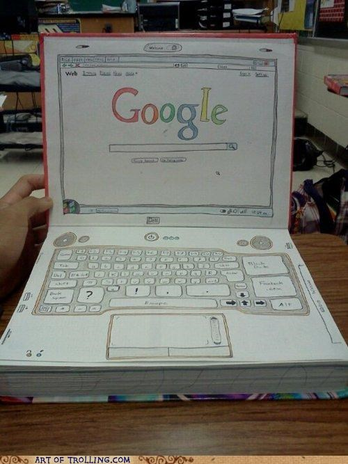 google IRL laptop textbook - 4805564928