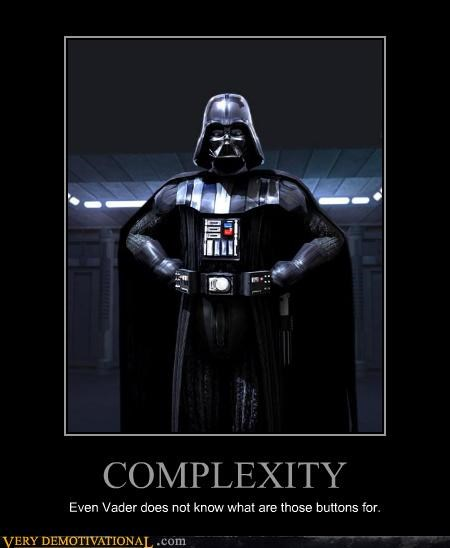 buttons complex darth vader hilarious star wars