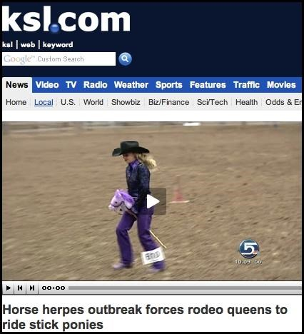 headline,Horse Herpes,Not The Onion