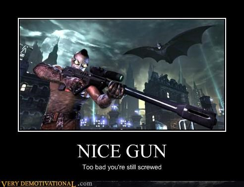 batman gun Pure Awesome video games - 4805857024