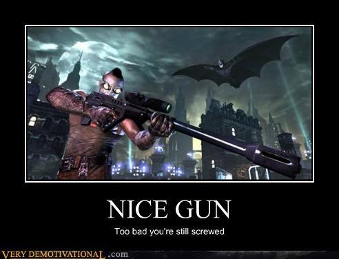 batman gun Pure Awesome video games - 4805857024