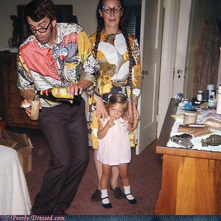 70s colors dress parents patterns T.Shirt - 4805908992