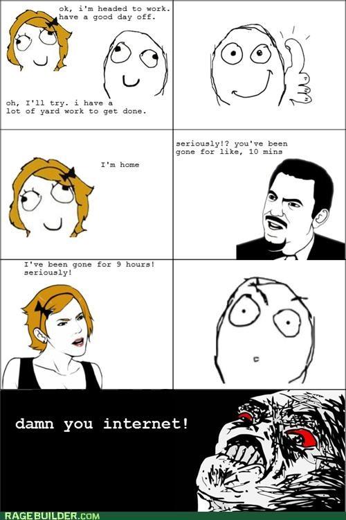 addiction internet Rage Comics time - 4806034176