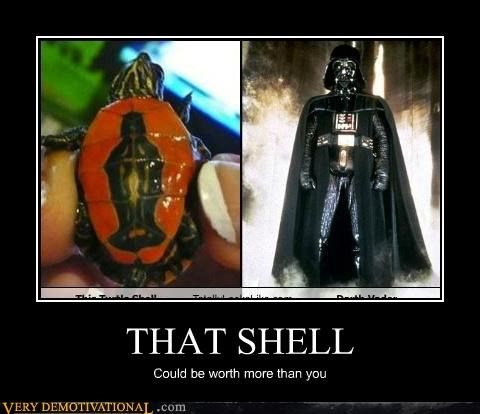 darth vader hilarious likeness shell star wars turtle - 4806068736