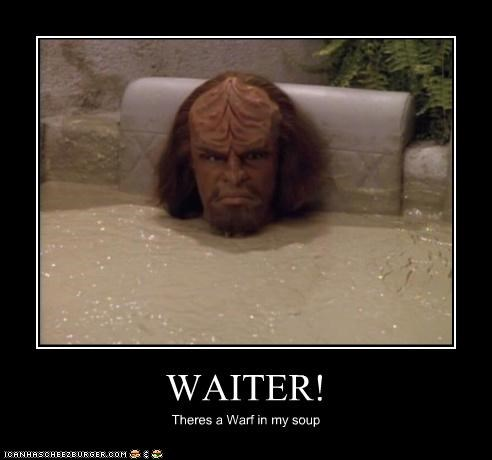 actor celeb demotivational funny Michael Dorn sci fi Star Trek - 4807639040