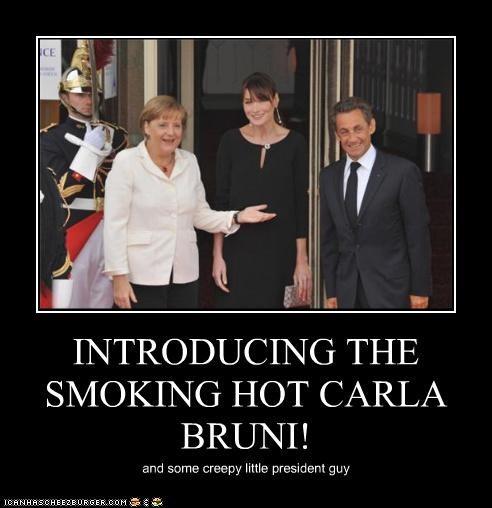 angela merkel carla bruni Nicolas Sarkozy political pictures - 4807881728