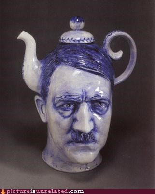 creepy,genocide,hitler,tea pot,wtf