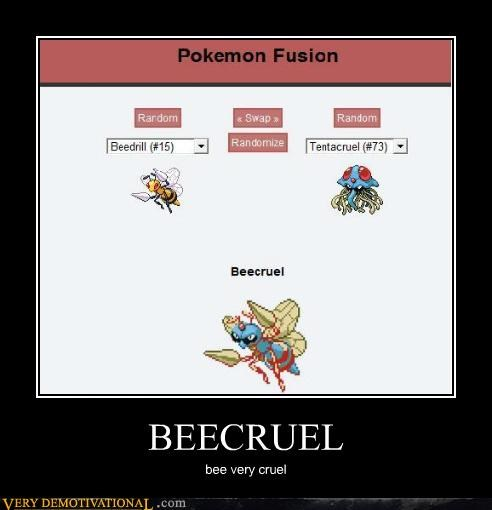 cruel fusion hilarious Pokémon wtf - 4808185600