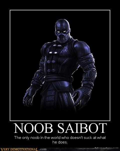 hilarious,Mortal Kombat,noob,noob saibot,video games