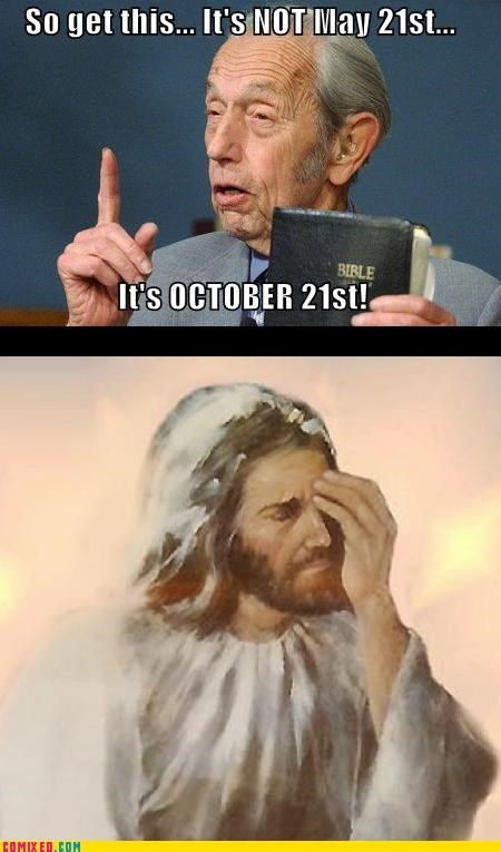 harold camping its-jesus jesus oh god RAPTURE wtf