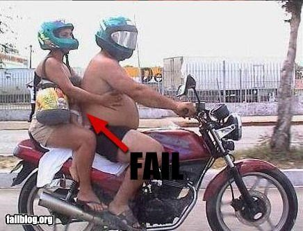 children classic failboat g rated motorcycle Parenting Fail unsafe