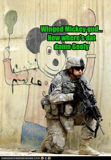 Winged Mickey gud... Now where's dat damn Goofy