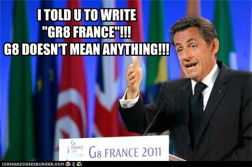 g8,Nicolas Sarkozy