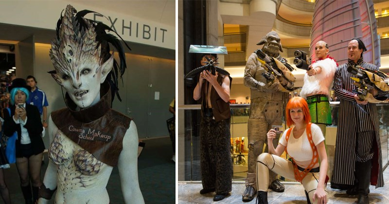 Cool photos of cosplay, cosplayers, costumes, gaming, anime, science fiction.