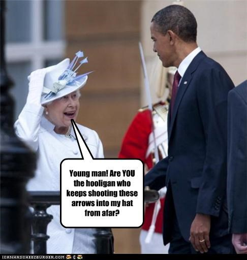 barack obama political pictures Queen Elizabeth II